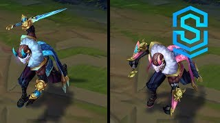 Blood Moon Pyke Chroma Skins
