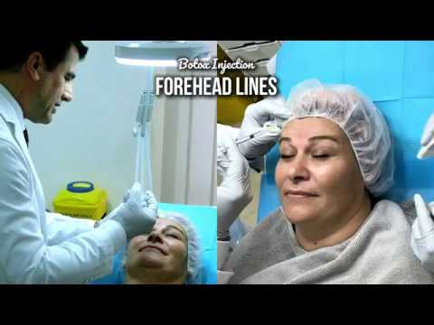 Botox Injection in Forehead Lines - with Dr Allen Rezai