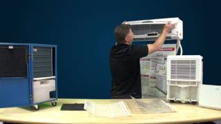 Ideal-Air™ Mini Split & Dehumidifier Filter Maintenance