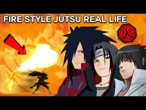 Why Naruto Doesn't Use Fire Style Jutsu -  Fire Style Explained w/ Science Theory