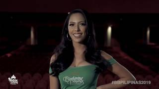 Ilene Astrid de Vera Binibining Pilipinas 2019 Introduction Video