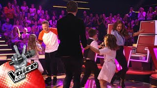 Luca, Kylan & Jools   'En Dans' | The Battles | The Voice Kids | VTM