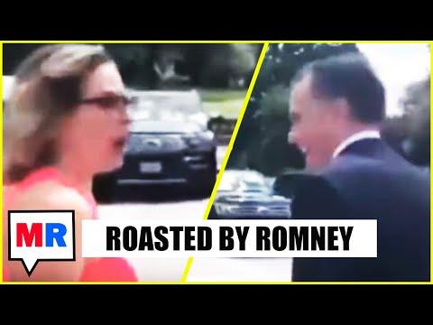 Mitt Romney Dunks On Kyrsten Sinema To Her Face