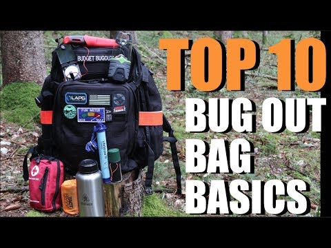Are YOU Prepared??? 10 Gear Items You NEED In Your Bug Out Bag!