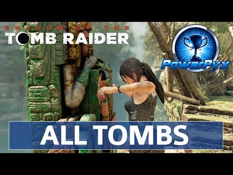 Shadow Of The Tomb Raider - All Challenge Tombs Walkthrough (Locations & Solutions)