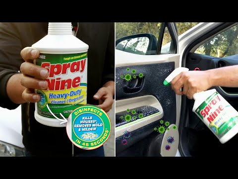 Car Cleaner & Disinfectant Spray to protect your car from germs | PakWheels Auto Parts & Accessories