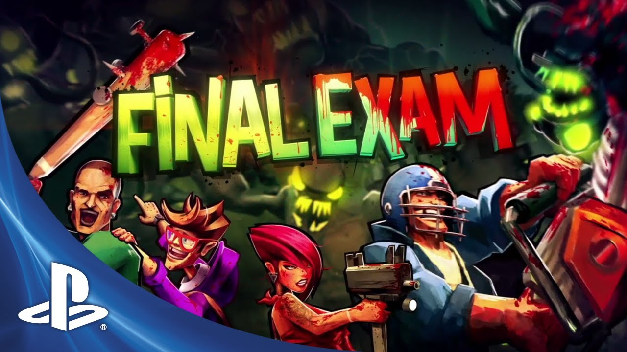 Final Exam Coming to PS3 on November 5th