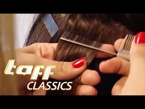 Haar Extensions im Test | taff classics | ProSieben