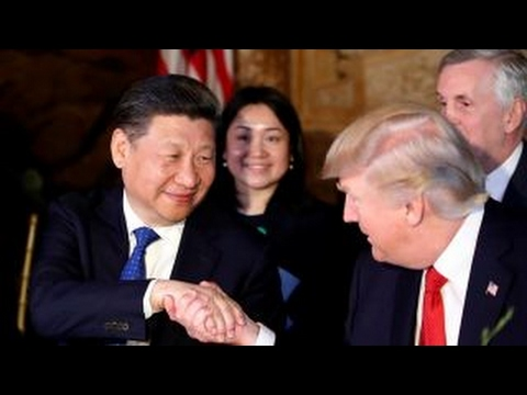 Trump on telling Chinese President Xi about Syria airstrikes