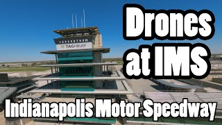 Flying at the Indianapolis Motor Speeday