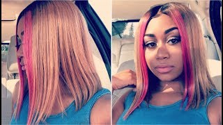 QUICK WEAVE/PRONTO TUTORIAL | MARCH QUEEN BRAZILIAN HONEY BLONDE HAIR