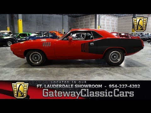 Video of Classic 1971 Barracuda Offered by Gateway Classic Cars - Fort Lauderdale - L7H0