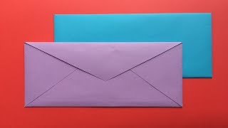 How To Make A Paper Envelope | How To Make An Easy Origami Envelope