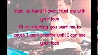 Maroon 5 - My Heart Is Open feat. Gwen Stefani Lyrics
