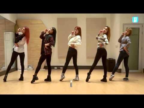 EXID 'Hot Pink' mirrored Dance Practice