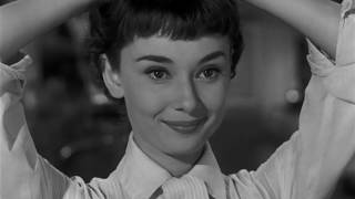 Audrey Hepburn Cutest Haircut Moment In Roman Holiday