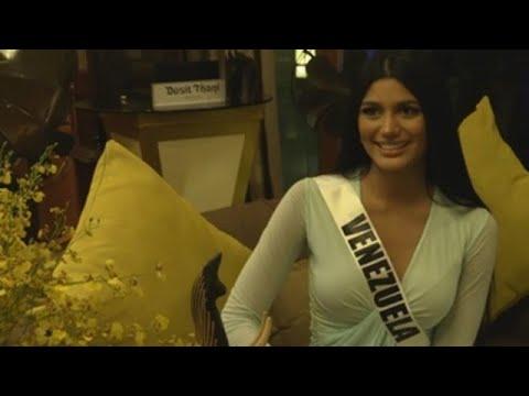 El apoyo a los inmigrantes, la bandera de la candidata venezolana a Miss Universo