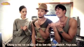 122. [Vietsub] Titanium Talked About Working With Nadech And Yaya For Lay's Summer