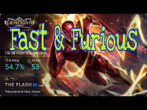 Cách chơi The Flash mùa 9 gánh team bá đạo |LIÊN QUÂN MOBA