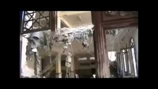 preview picture of video 'دير الزور : تقرير جامع تكية الراوي Deir Ez-Zor: Damage assessment of the Tekyyet al-Rawi mosque'