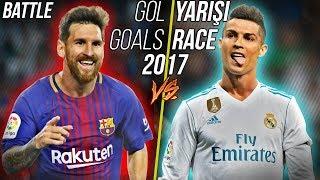 Lionel Messi vs Cristiano Ronaldo | 2017 Yılı Gol Yarışı, Tüm Goller • HD