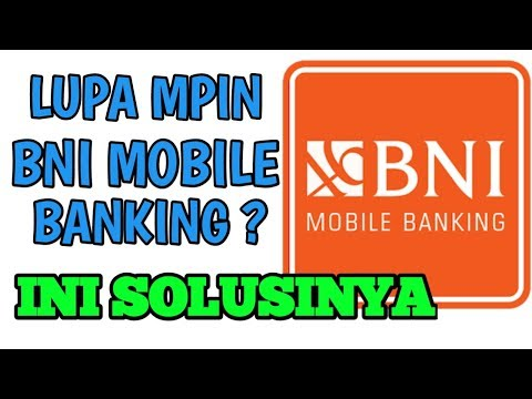 Lupa Mpin BNI Mobile Benking
