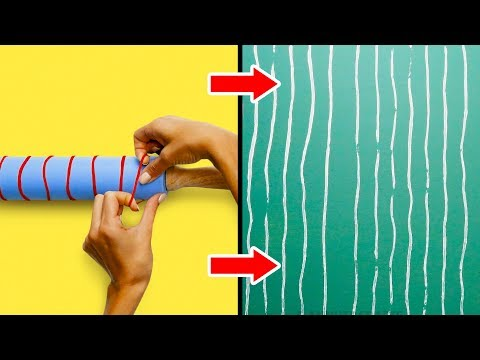 10 LOVELY DIY PAINTING IDEAS TO UPGRADE YOUR BORING WALLS