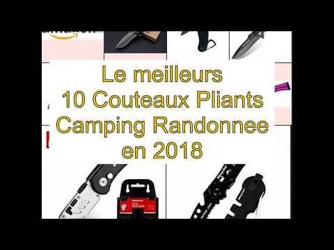 Le meilleurs 10 Couteaux Pliants Camping Randonnee en 2018