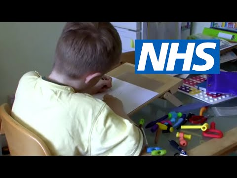 Screenshot of video: Dyspraxia- a mother's view