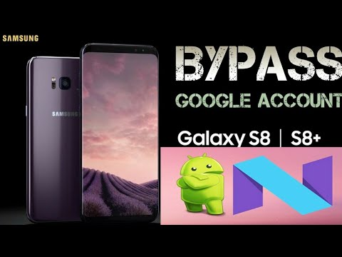 SAMSUNG G955f G950F FRP BYPASS ALL S8 S8 PLUS PLUS FILE FREE