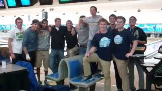 Men's Team Goes Bowling to Celebrate ITA All Academic Team Award!