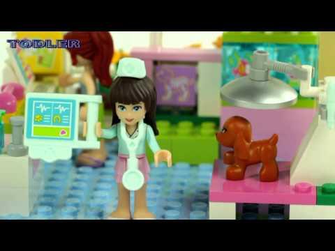 Vidéo LEGO Friends 3188 : La clinique vétérinaire