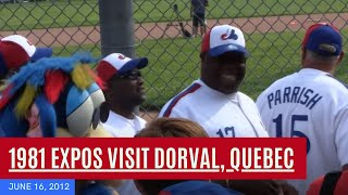 preview picture of video '1981 Montreal Expos at Ballantyne Park in Dorval, Quebec'