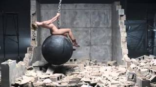 Miley Cyrus - Wrecking Ball [NO MUSIC SOUND DESIGN]