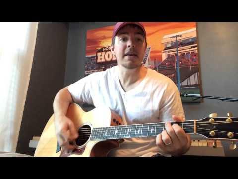 Speakers - Sam Hunt (Beginner Guitar Lesson)