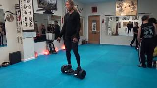 Hoverboard Speed Challenge