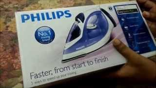 Philips Steam Iron | Philips  GC2048 | Philips Easy Speed Iron Unboxing and Review by Happy Pumpkins