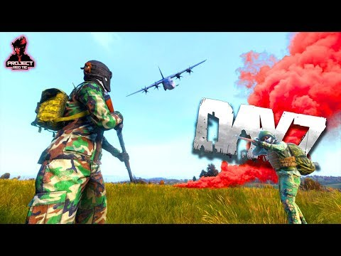 DayZ 1.02 - Finding An Air Drop!