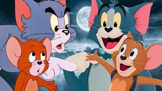 TOM & JERRY - Cartoon vs Live-Action Trailer Comparison (1992 & 2021)