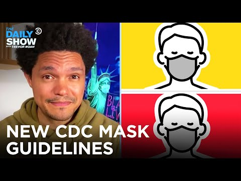 WATCH: Trevor Noah Rips CDC For Incoherent Messaging On Masks, Vaccines