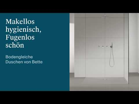 Bette Floor shower tray 5941, 100x100cm