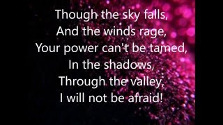 1 Girl Nation - Panic Lyrics Video