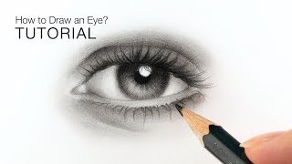 How To Draw Realistic Eyes For BEGINNERS - EASY Tutorial