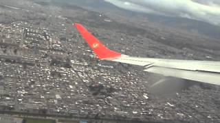 preview picture of video 'Take-off from Bogota's El Dorado International Airport, Colombia'