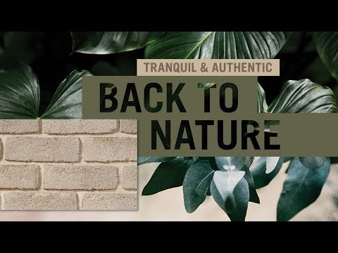 Exterior home design styles - Back to Nature