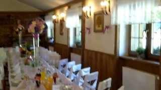 preview picture of video 'Sala weselna w Restauracji Gościniec Oycowa Zagroda'