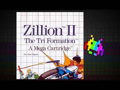 Zillion 2: The Tri Formation - Long Ass Name - Let's Play Master System!