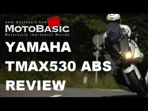 ヤマハ TMAX530 ABS(日本仕様)バイク試乗レビュー YAMAHA TMAX 530 ABS Japanese Version Review