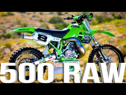 Kawasaki KX500 2 Stroke RAW featuring Destry Abbott – Dirt Bike Magazine