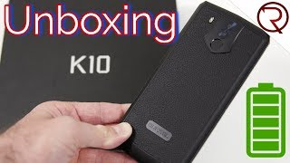 Oukitel K10 Unboxing & Hands-On - GIGANTIC 11000mAh Battery, NFC, 4 Cameras
